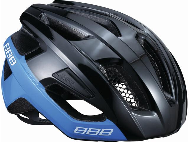 BBB Kite BHE-29 Kask rowerowy, black/blue